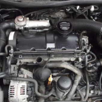 USED - VW engines Fits All: Passat / Golf / Bora / Skoda / Seat 1.9 tdi AJM Bare engine