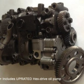RECONDITIONED - Audi engines ** Fits ALL: Audi A4 A3 A6 / VW Caddy / Seat / Skoda 2.0 tdi BMM ** UPRATED OIL PUMP INCLUDED bare engine
