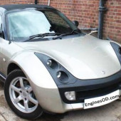 0.7 L Smart Roadster Coupe Petrol M 160.922 2003-06 Engine