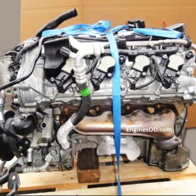 EnginesOD - 5 5 SL 500 mercedes engine M273 965 387 - 388 bhp